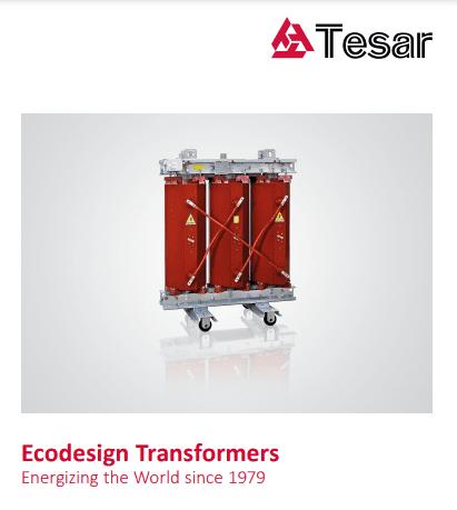 Каталог сухих трансформаторов TESAR (eng)